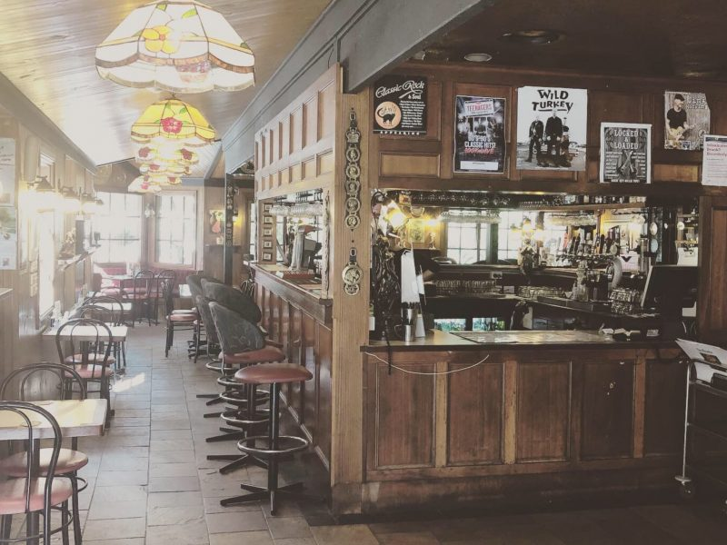Micawber Tavern ornate bar