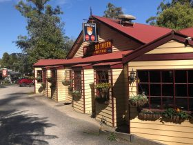 Micawber Tavern - Belgrave is a great place to go anytime of the year