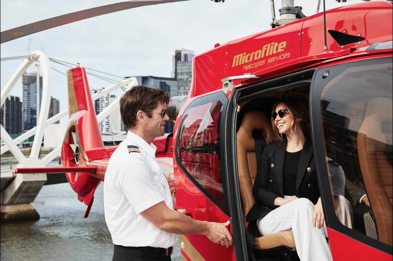 Professional and highly skilled pilots will make your trip enjoyable whilst putting safety first
