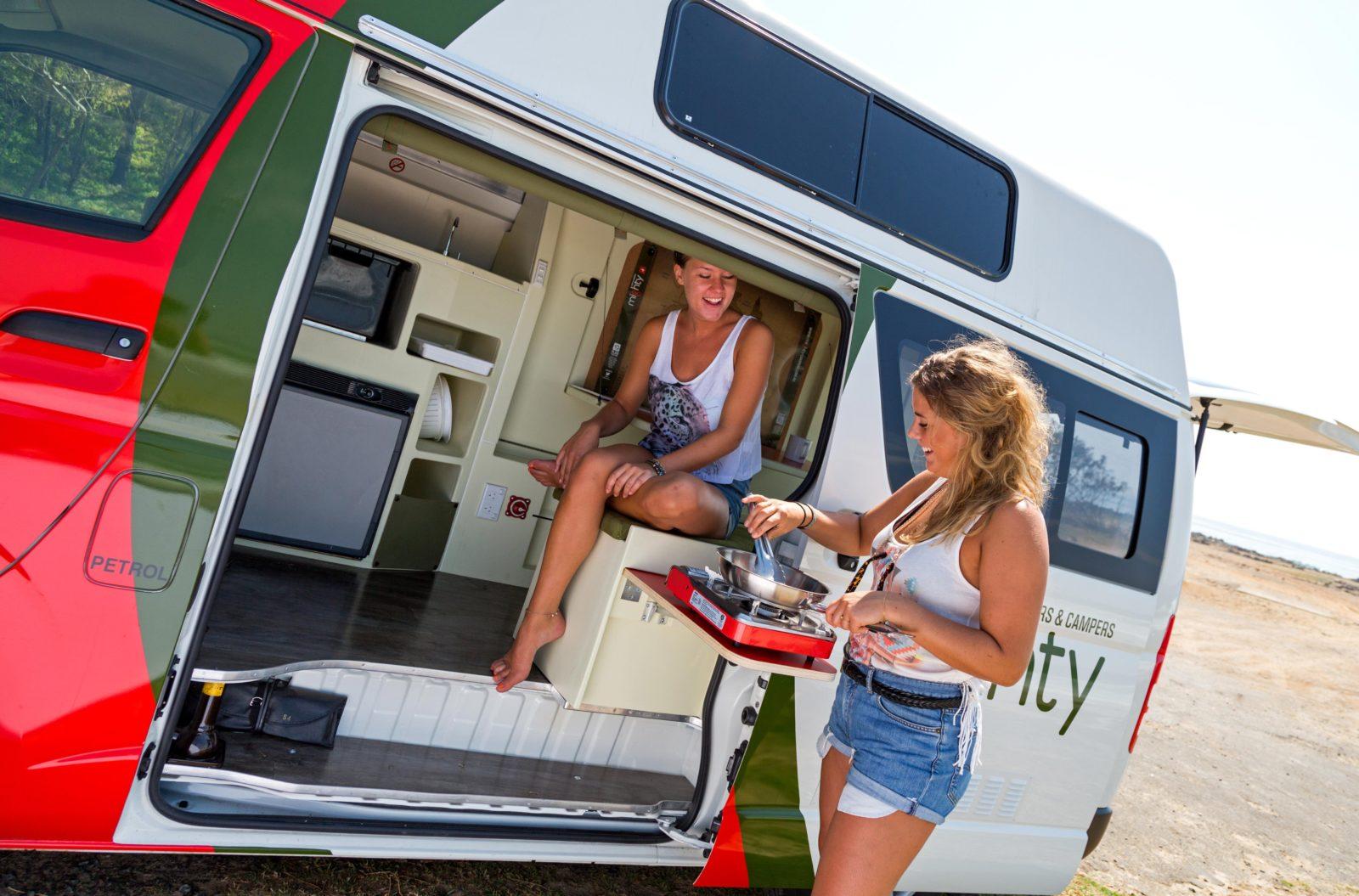 Melbourne campervan motorhome