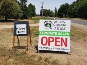 Farmgate Sales sign