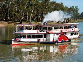 Paddle Steamer Melbourne