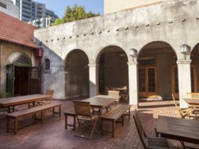Mission Courtyard