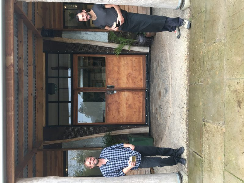 Mitta Mitta Brewing Co owners Tim and Alec