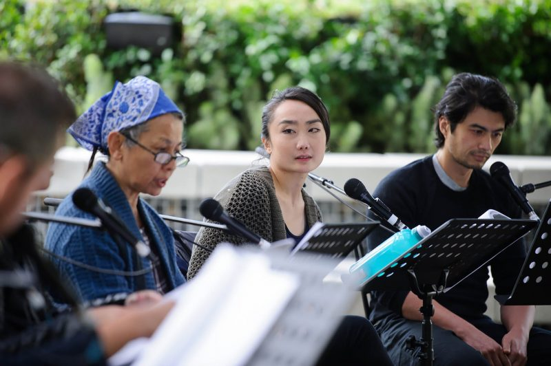 MTC's reading of Benjamin Law's 'Torch the Place' at MPavilion 2018.