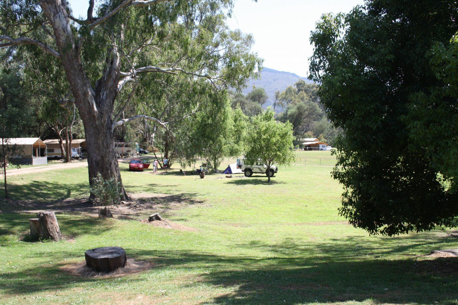 Plenty of camping spots