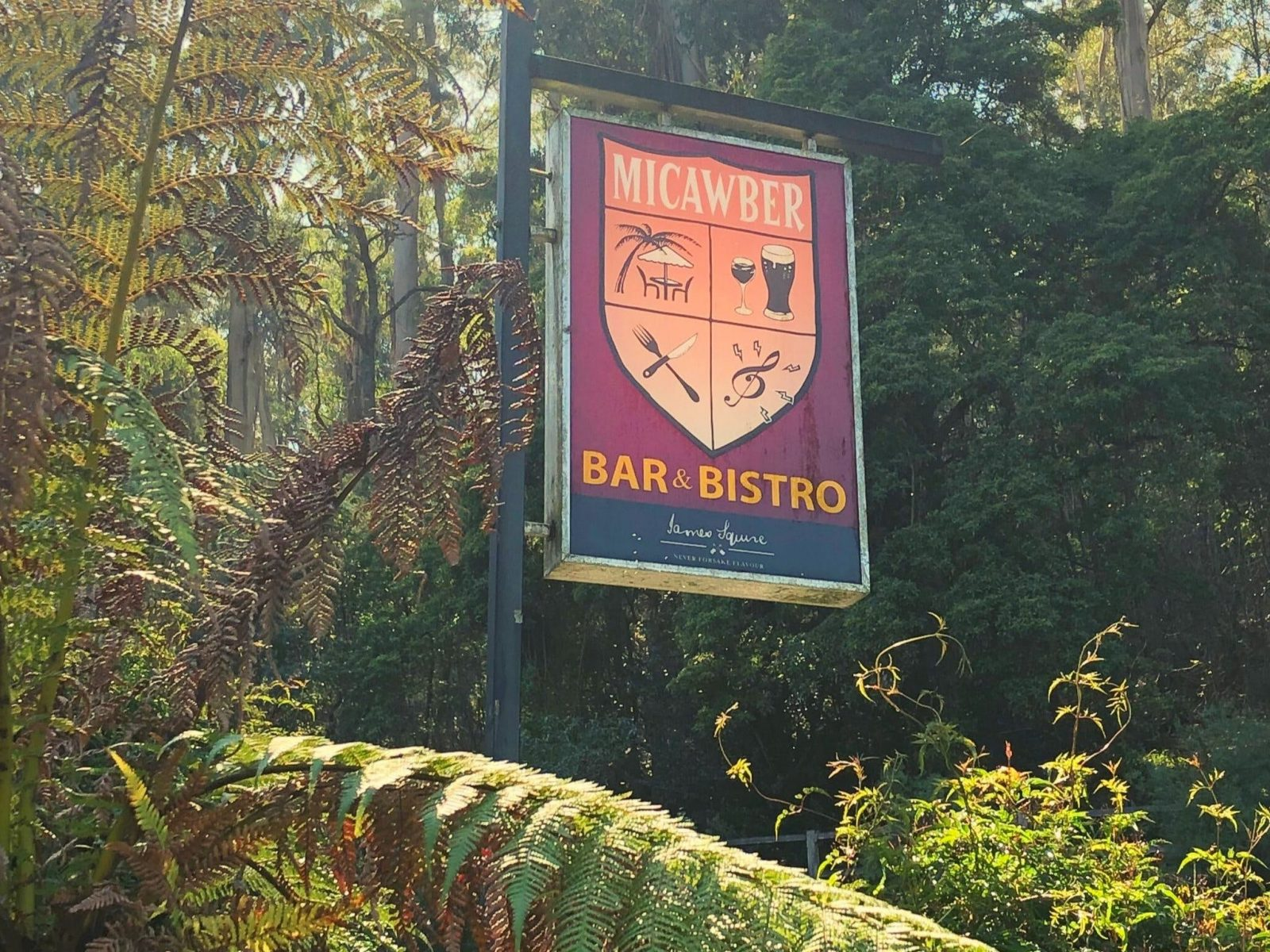Micawber Tavern - Belgrave only a short drive from the township of Belgrave
