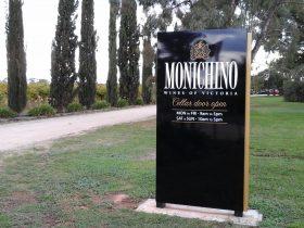 Monichino Wines Entrance