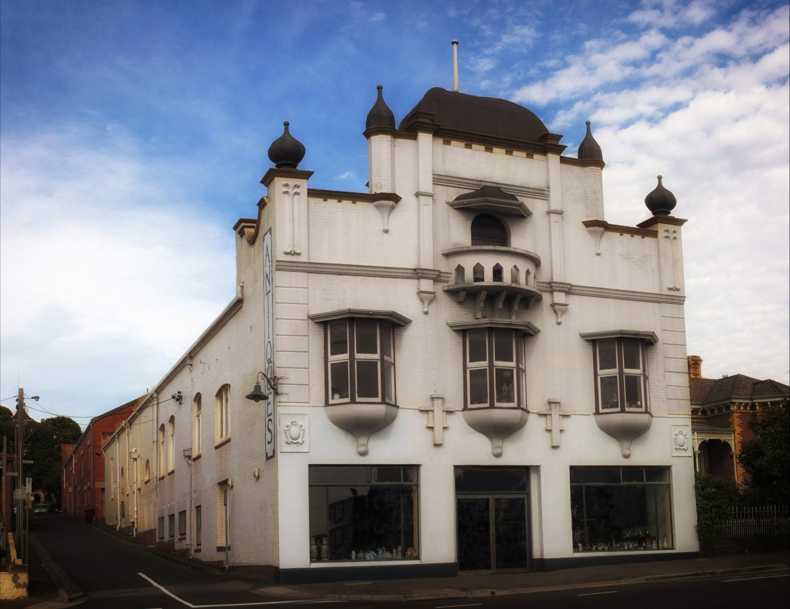 Moorabool Antique Galleries, situated in one of Geelong's most iconic historic buildings
