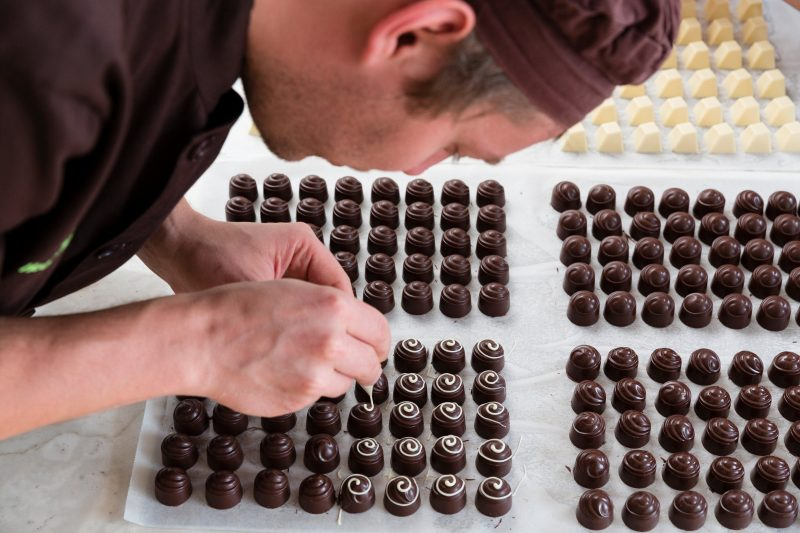 Watch European Chocolatiers at work