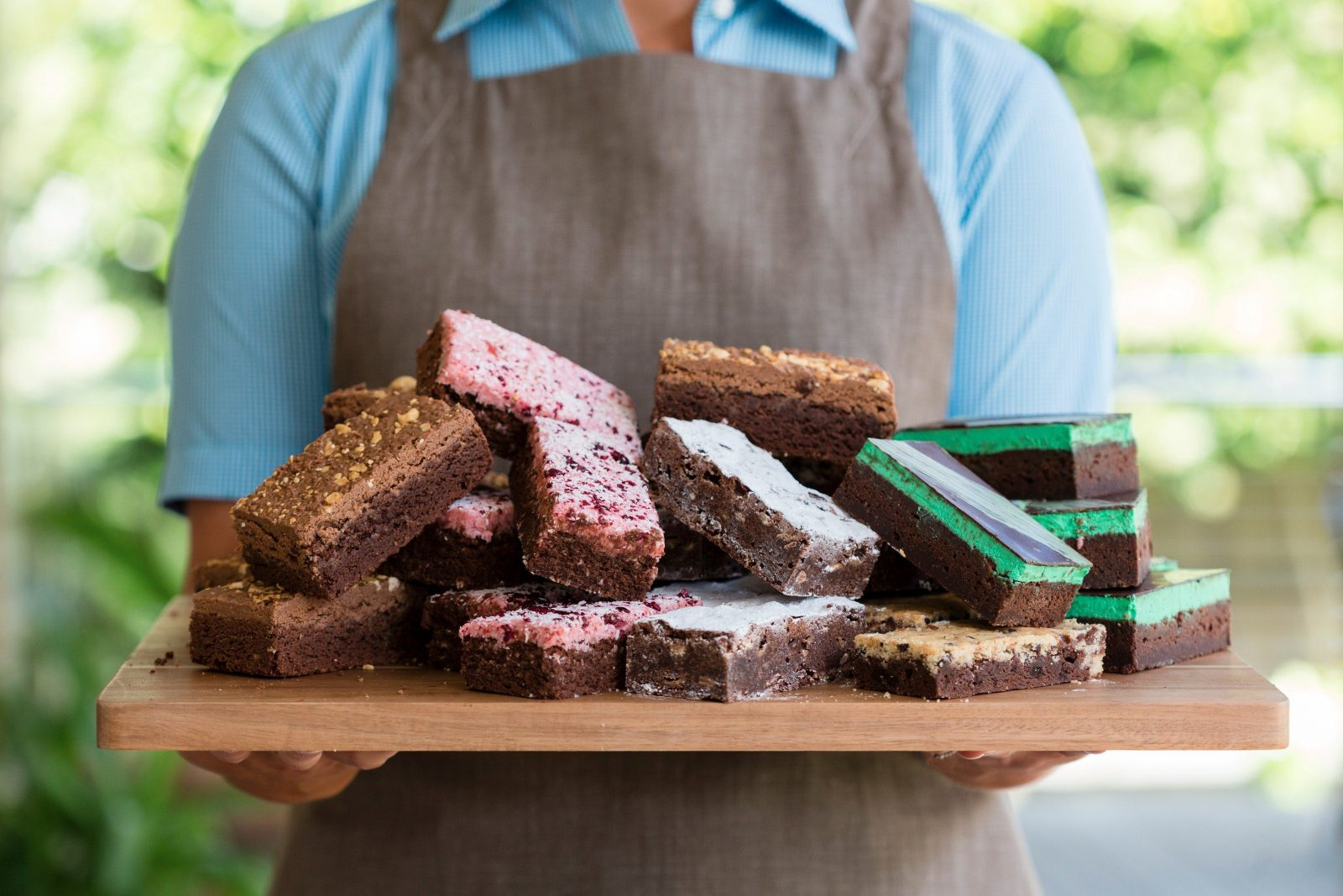 Brownie Bar selection of best-ever brownies