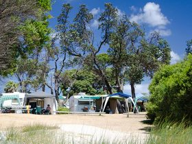 Foreshore camping