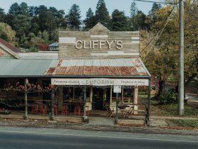 Facade of Cliffy's Emporium building