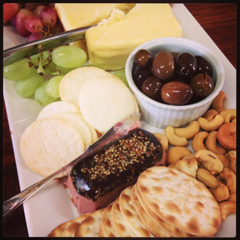 Sharing platters are available at Morrisons