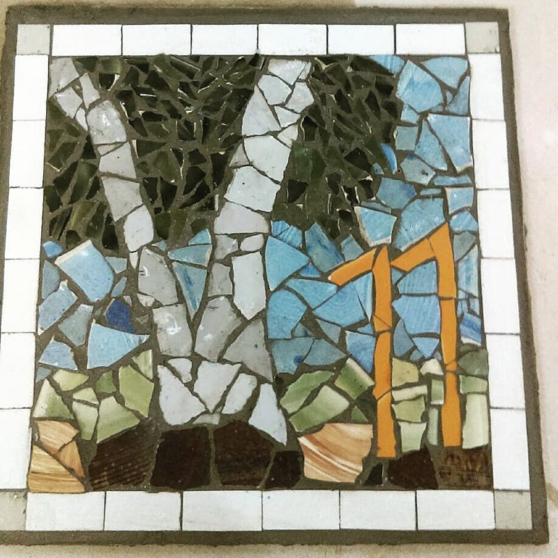 Mosaic workshop at ClayMotion Ballarat Victoria