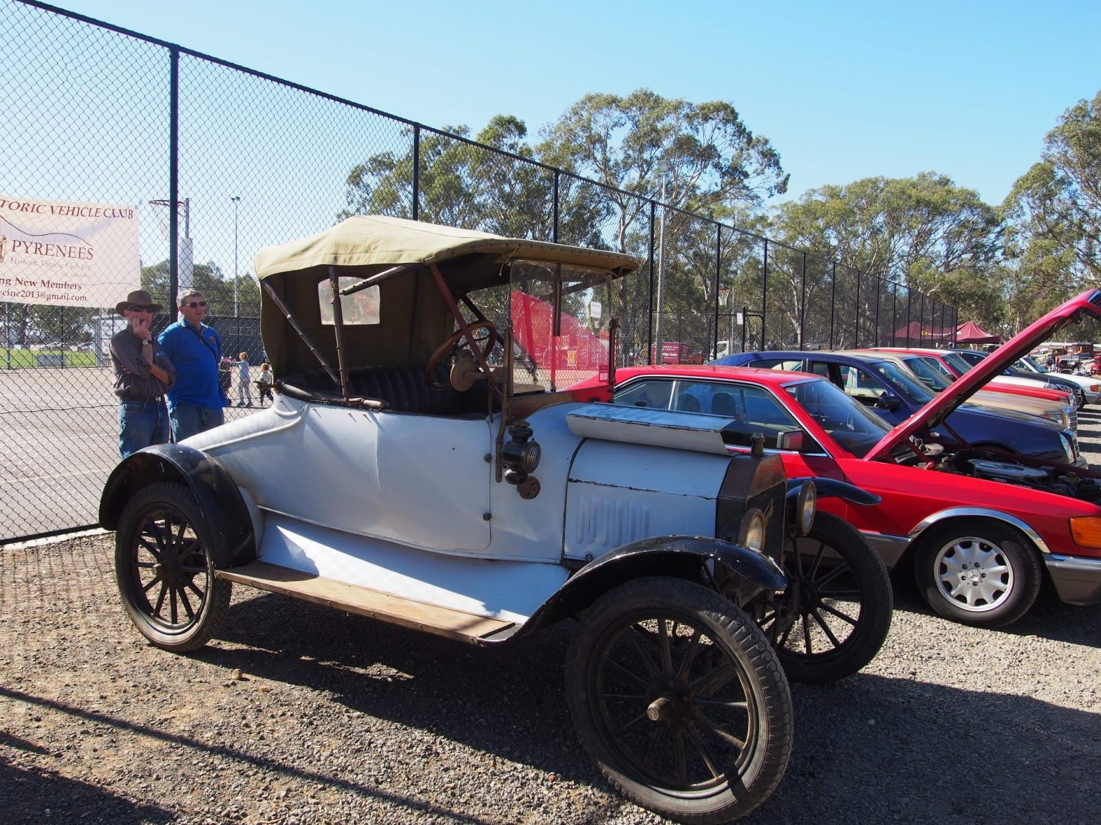 T Model Ford at the Natte Yallock Vehicle display