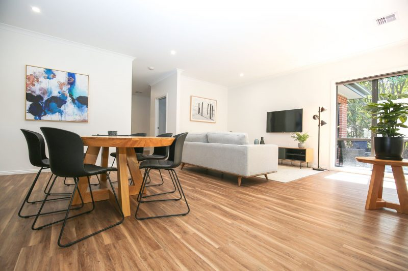 Luxury accommodation bright