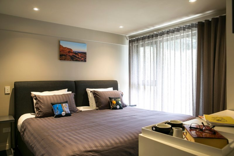 The deluxe room - International room, with super king bed, large window for stunning view