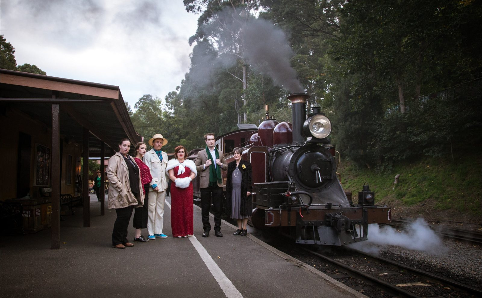 Puffing Billy Murder Mystery - can you guess 'Who Dunnit'?