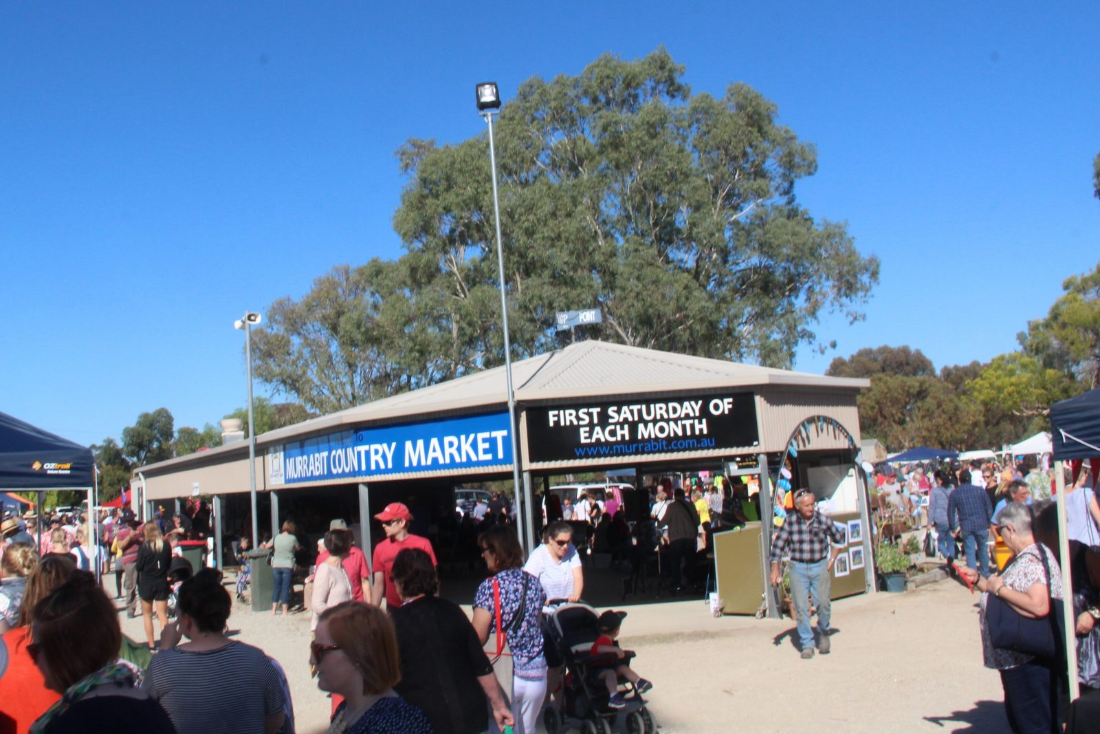Murrabit Country Market Broadcast and Information Area