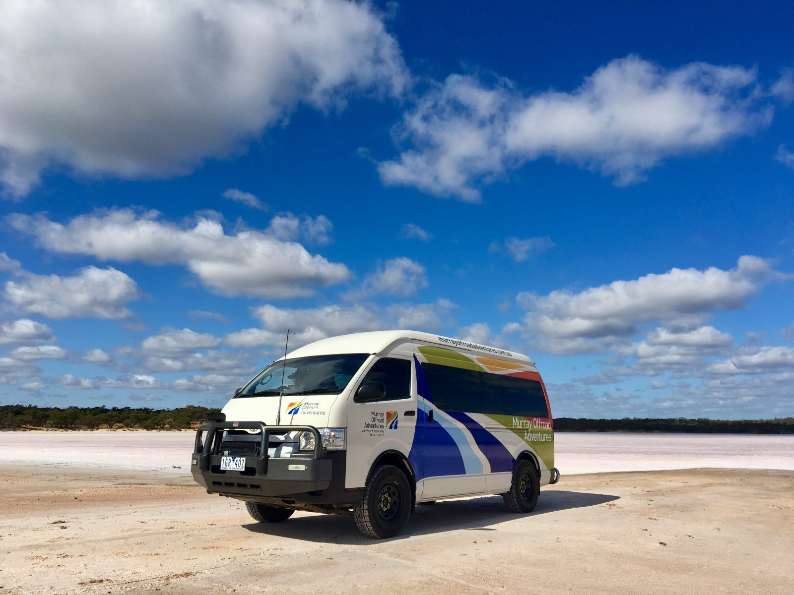 Murray Offroad Adventures on remote salt lakes