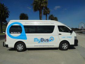 MyBus Geelong mini van