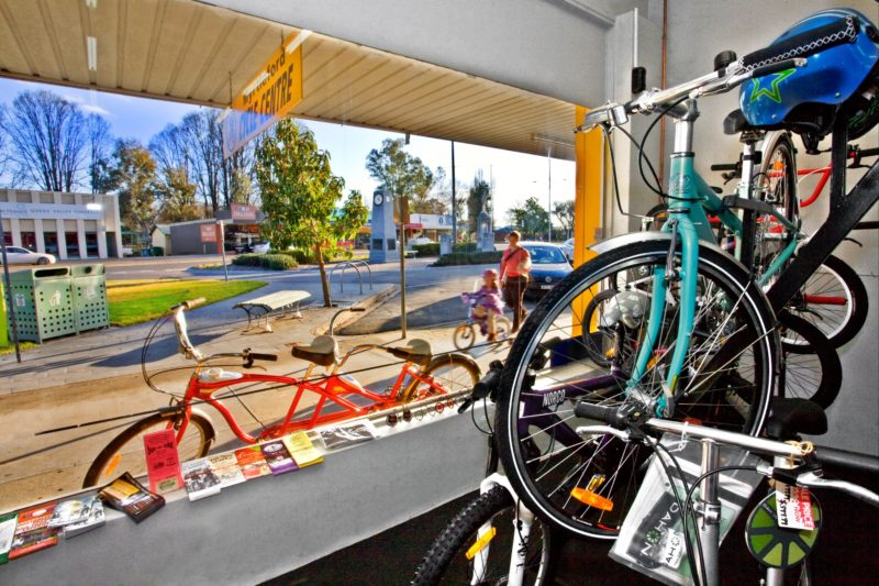 Myrtleford Cycle Centre is conveniently located in the heart of town