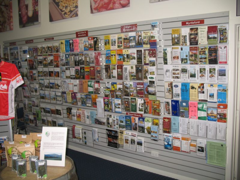Myrtleford Visitor Information Centre Interior