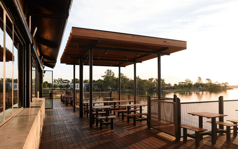 Nagambie Brewery and Distillery- The Deck