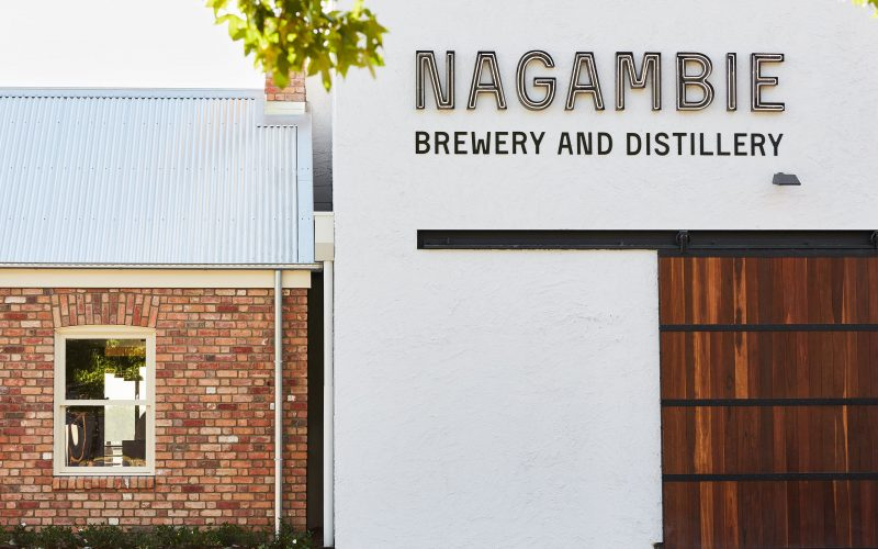 Nagambie Brewery and Distillery-Front Entrance