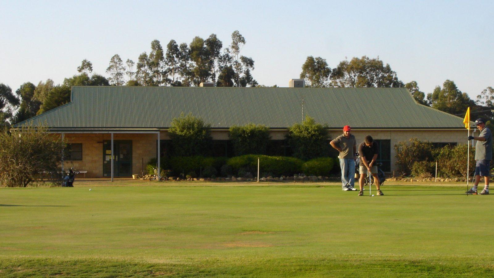 Nagambie Golf Club 18th hole