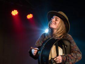 National Celtic Folk Festival - Zeon on stage