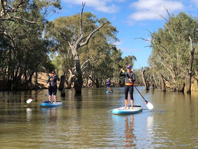 Stand Up Paddleboarding Guided Tour On the Loddon River at Serpentine