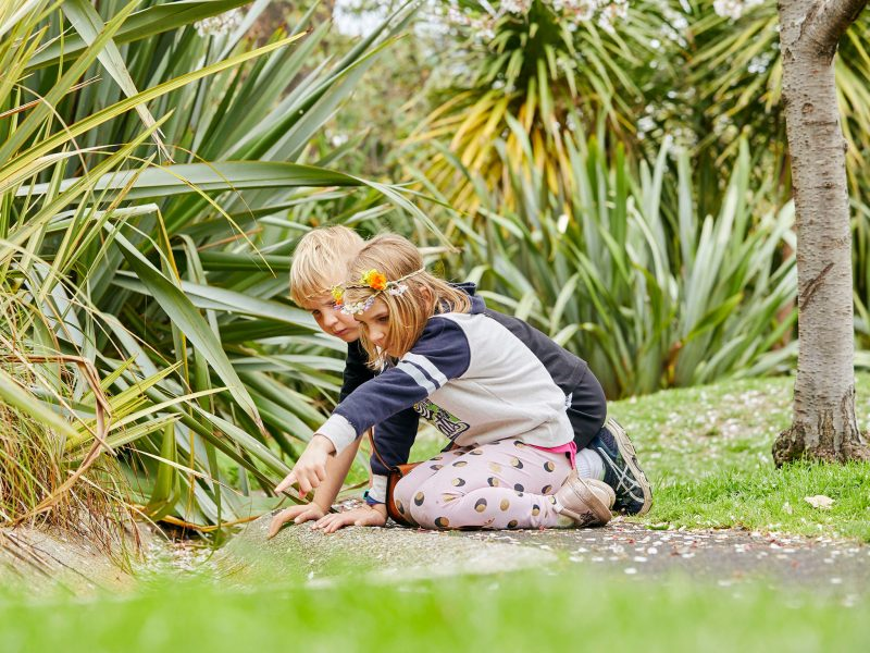 Nature Play in the Gardens