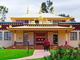 Traditional Tibetan Temple