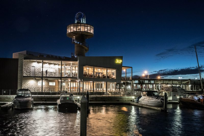 360Q restaurant at Queenscliff Harbour is hosting a five-course New Year's Eve event with fireworks.