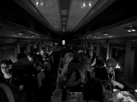 The Q Train dining carriage