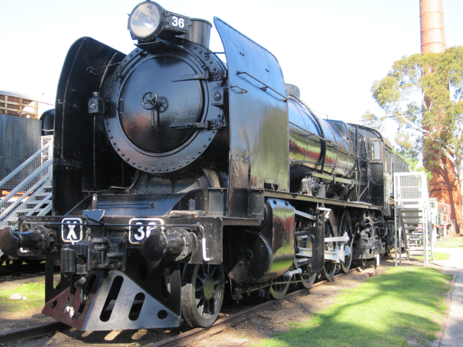 Locomotive X 36, built at Newport in 1929, its retirement in 1960 led to the founding of our museum