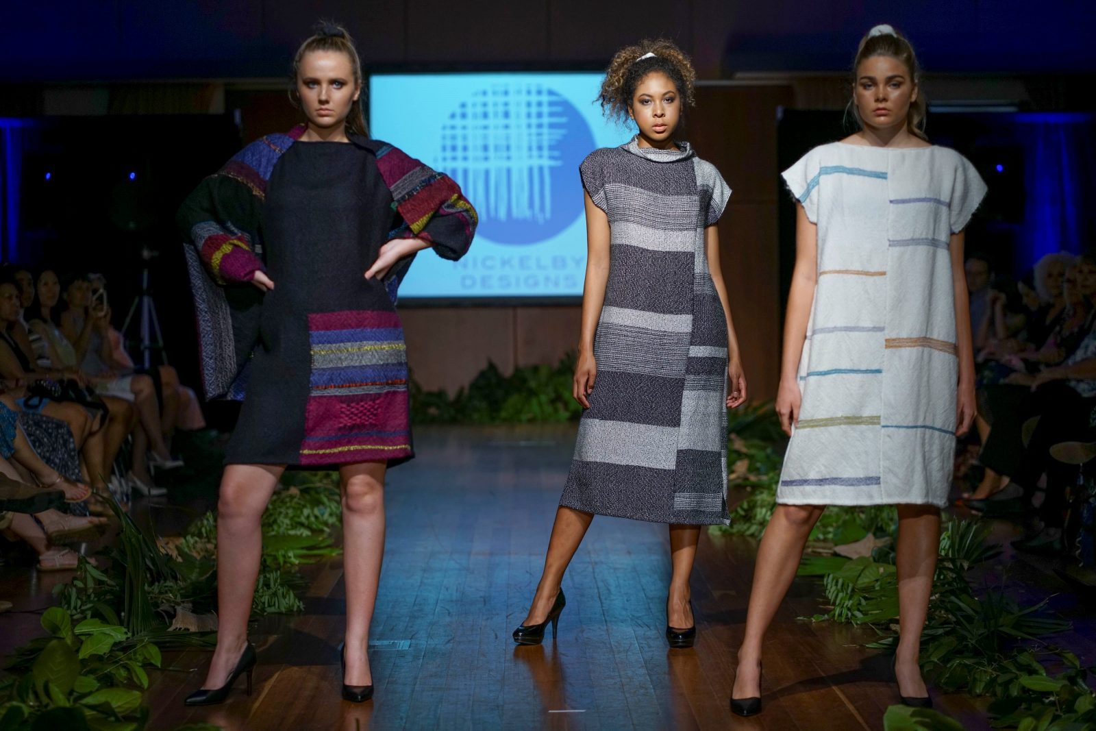 Nickelby Designs on the catwalk at Eco Fashion Week Australia