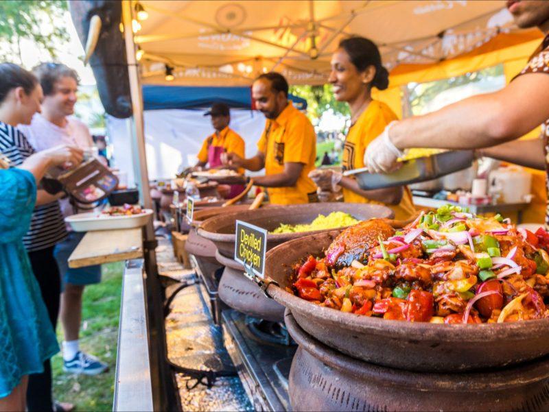Nightjar International Food Stalls