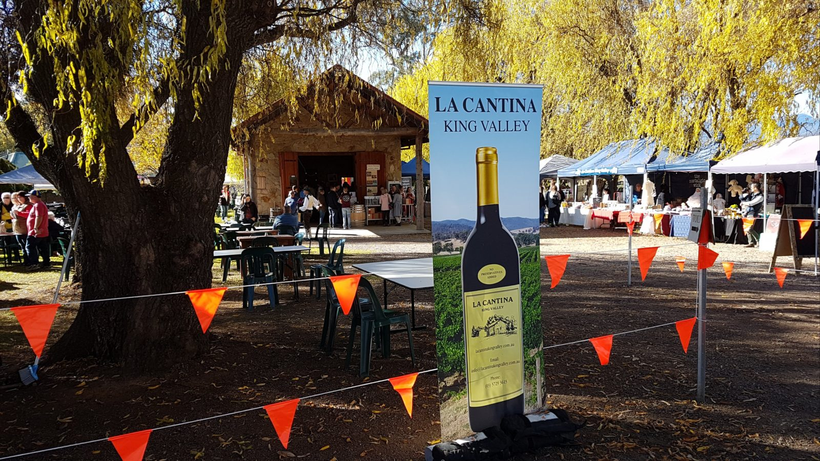 Fit for a King Weekend, King Valley at La Cantina Winery