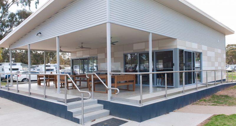 Camp Kitchen Exterior