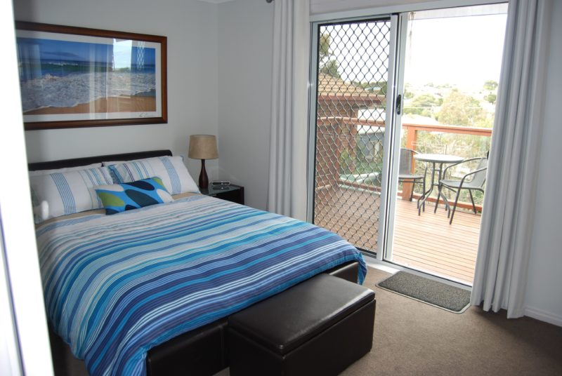 Beautiful bedrooms at Ocean Grove Holiday House