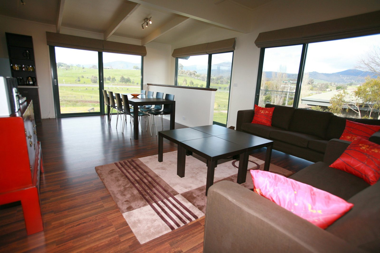 Oak Apartment Living/Dining Room