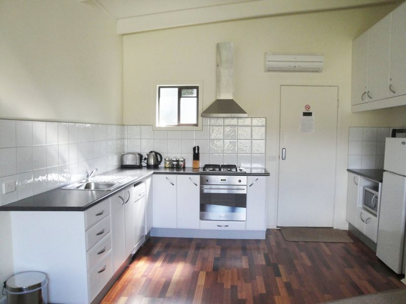 Pine Apartment Kitchen