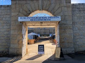 Front Gates Old Beechworth Gaol