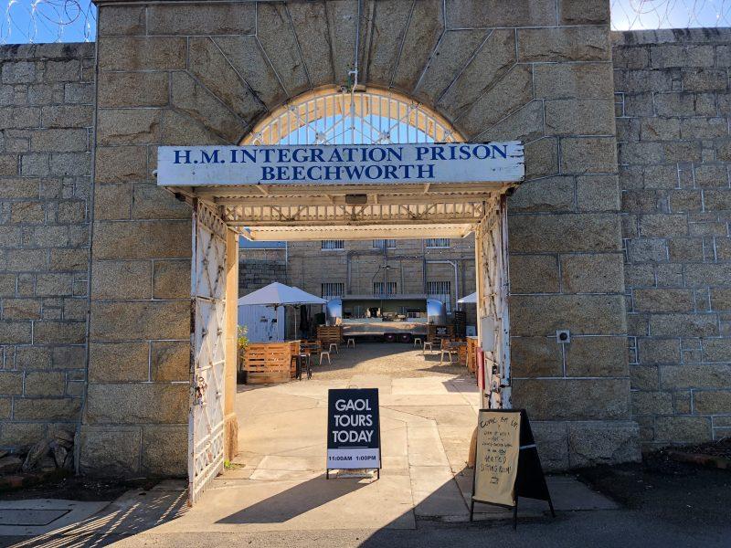 Front Gates Old Beechworth Gaol