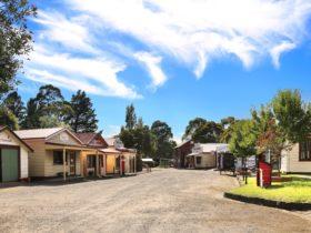 Main Street of Old Gippstown