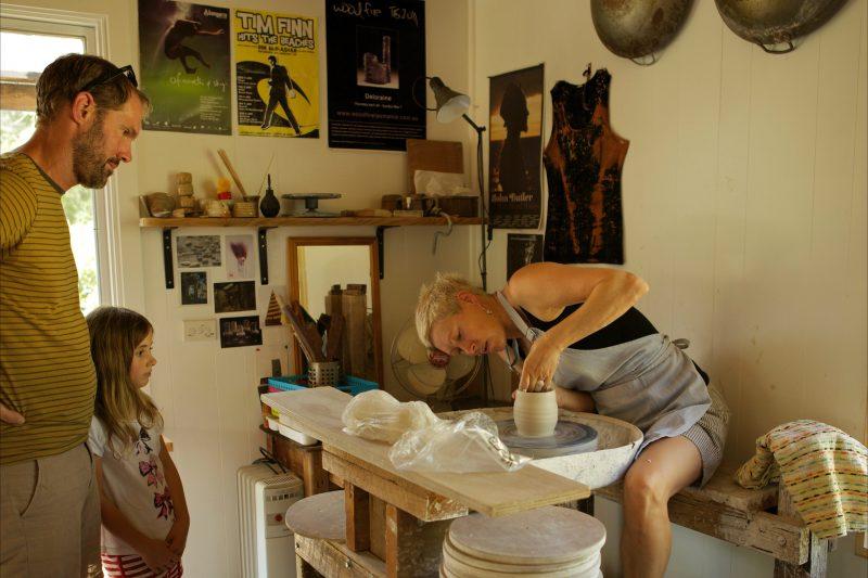 Sue Acheson sculpture and pottery studio