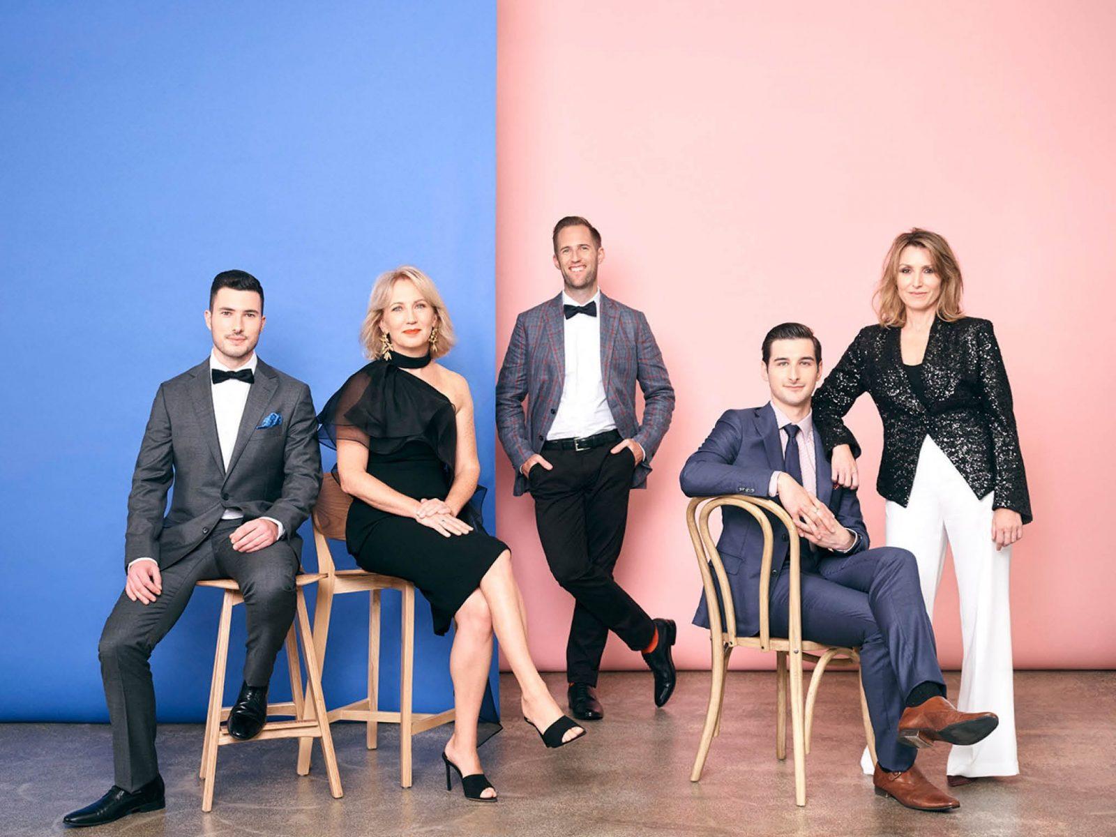 Photo of Members of the Brandenburg Choir